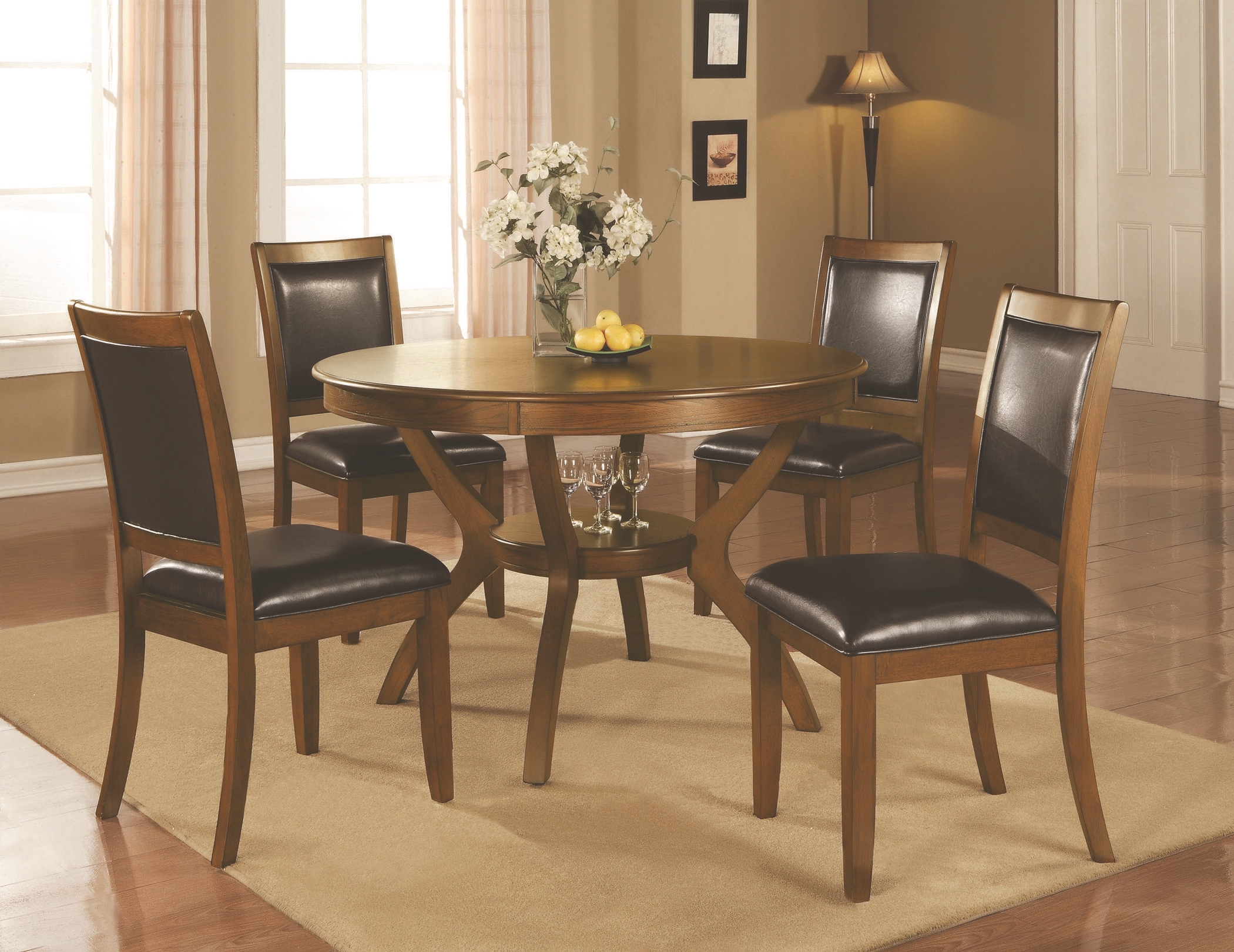 Nelms Casual Brown Walnut 5 Pc. Set