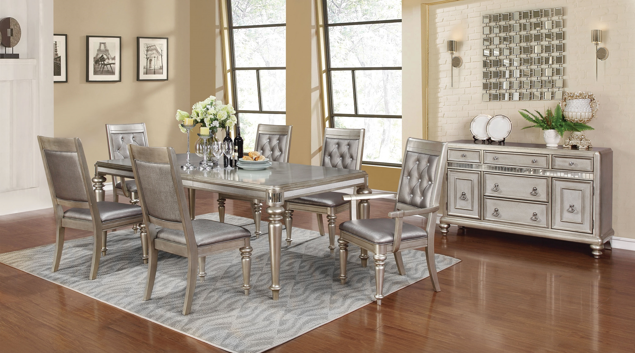 Danette Metallic 7 Pc. Set