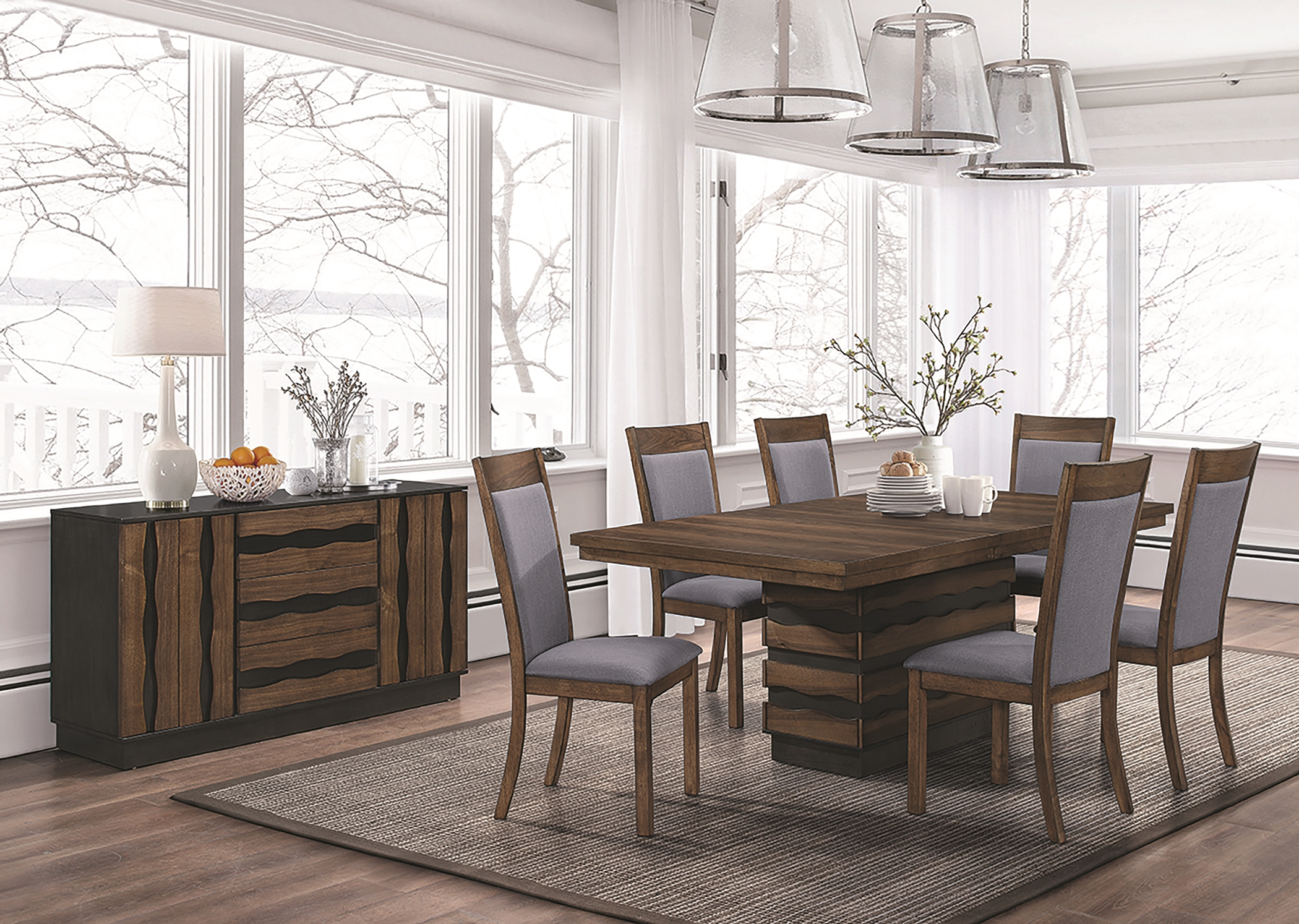 Octavia Rustic 5 Pc. Set