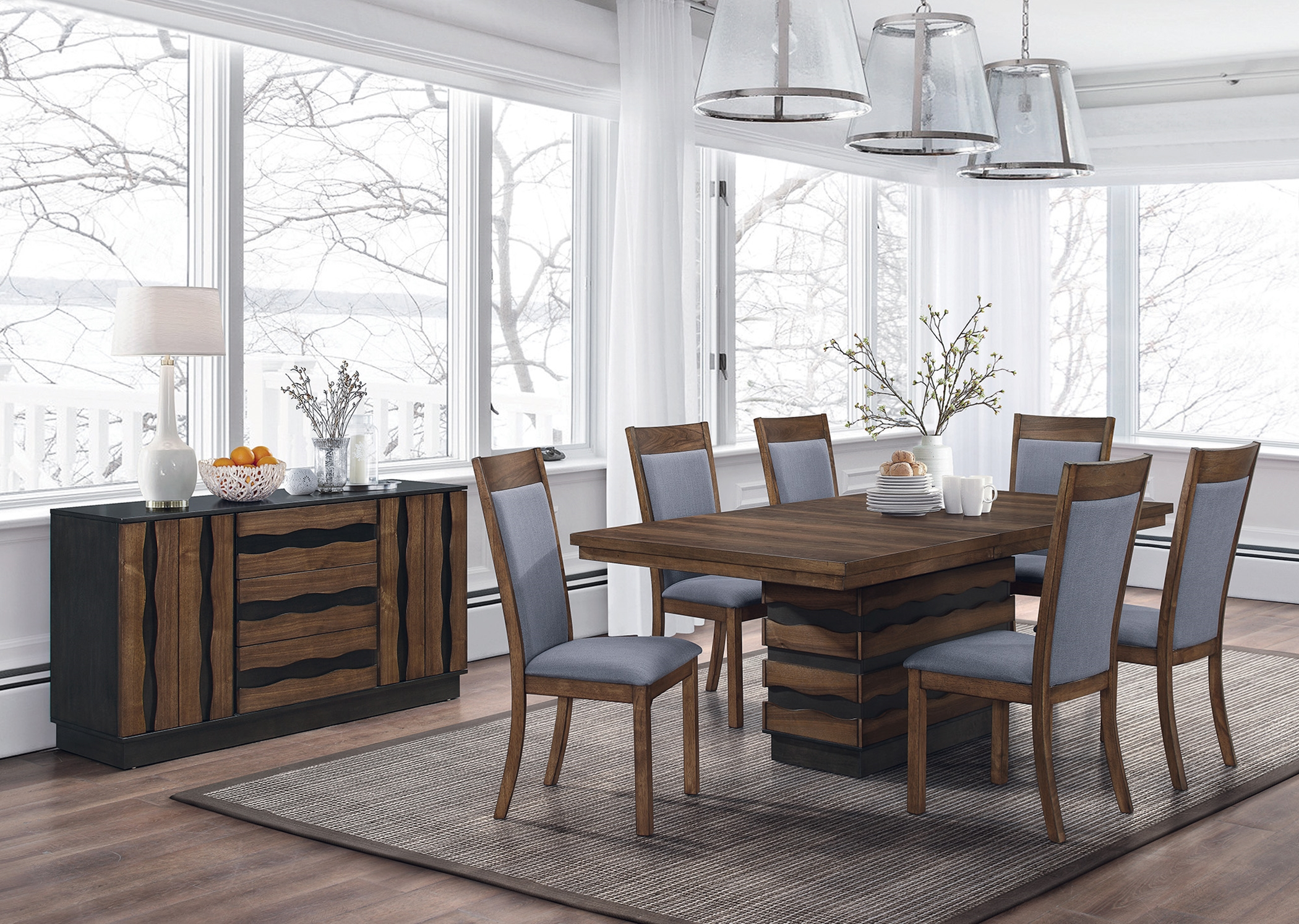 Octavia Rustic 7 Pc. Set