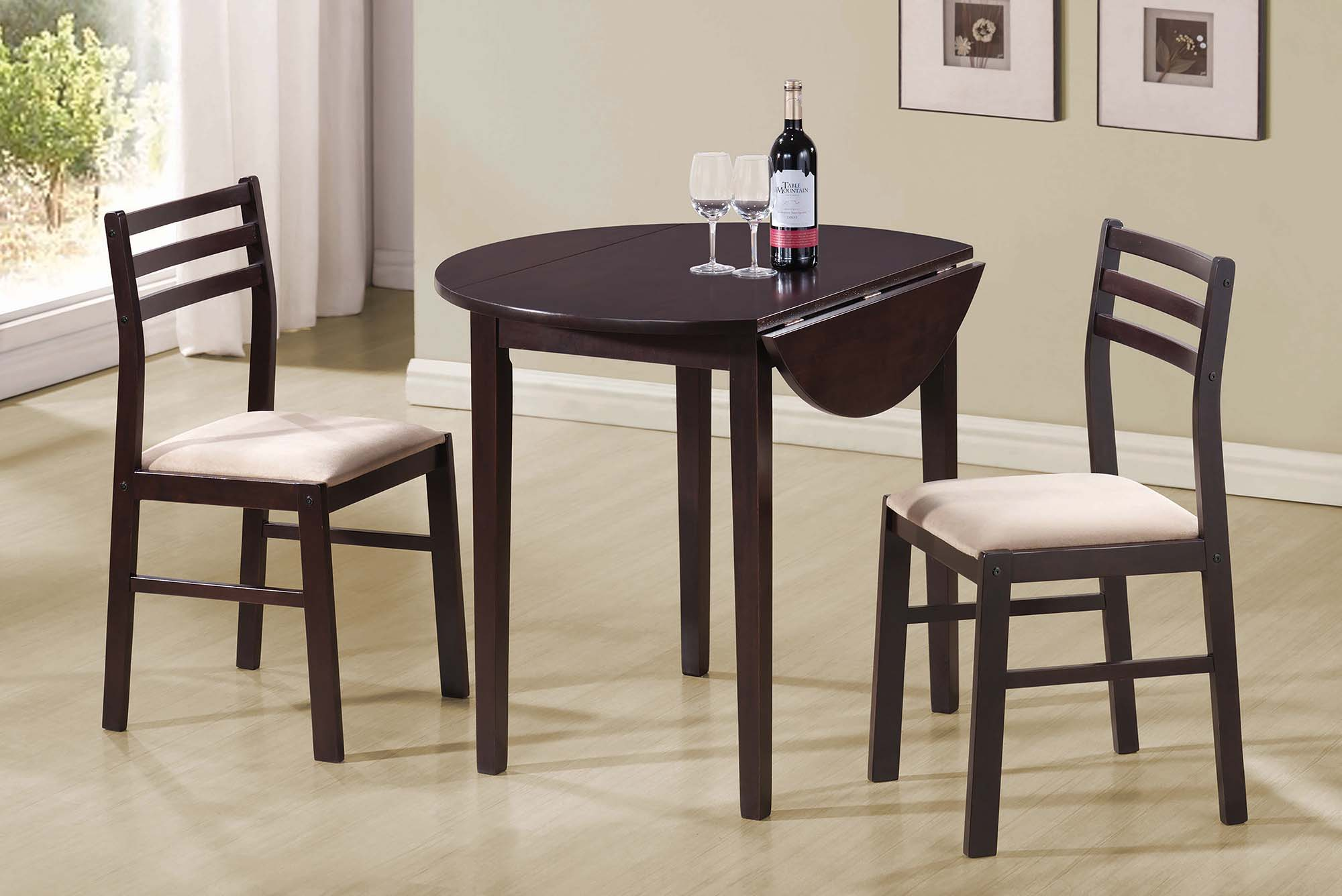 Casual Capp. Three-Piece Dining Set