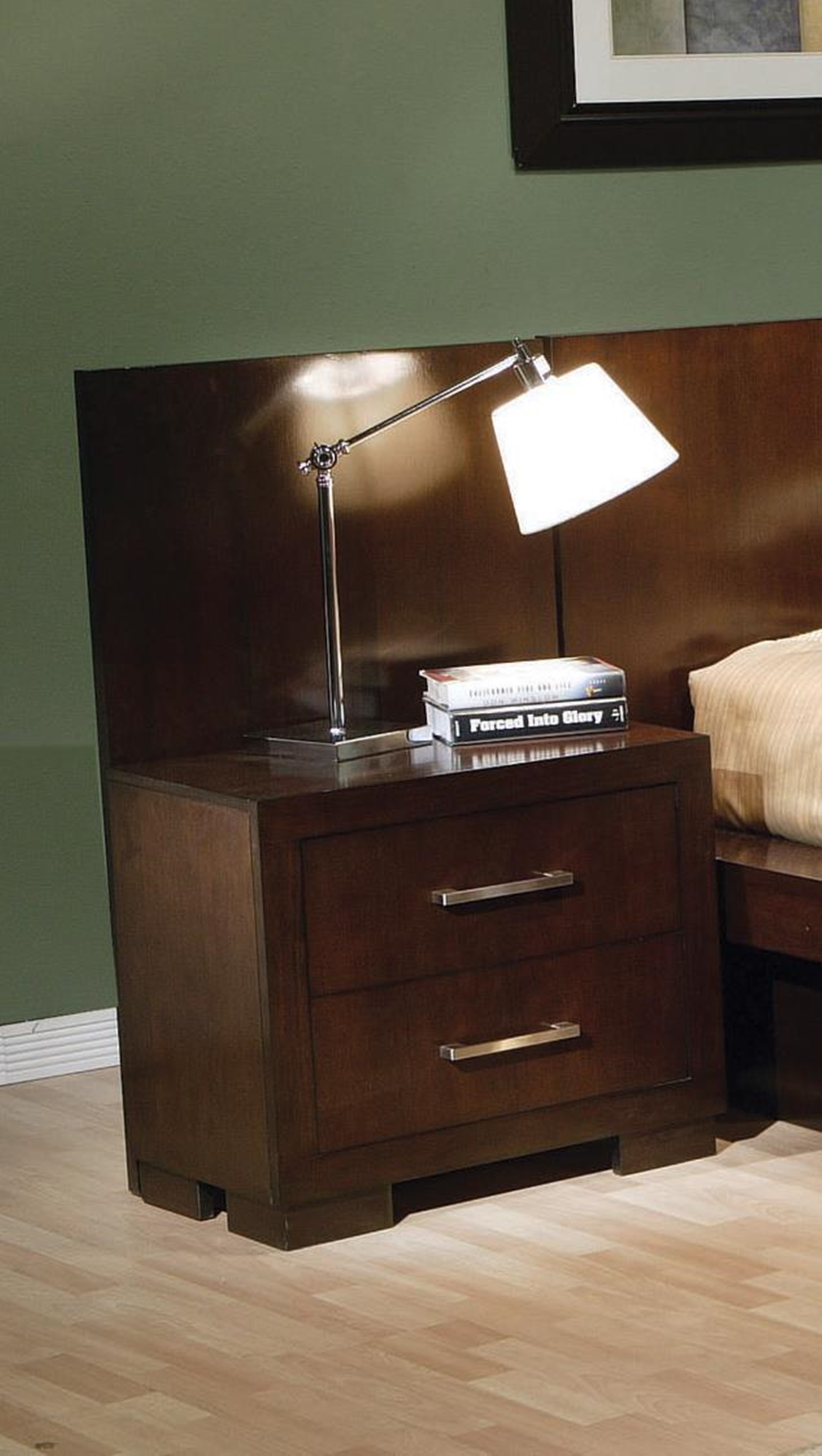 Jessica Two-Drawer Nightstand Back Panel (Pair)