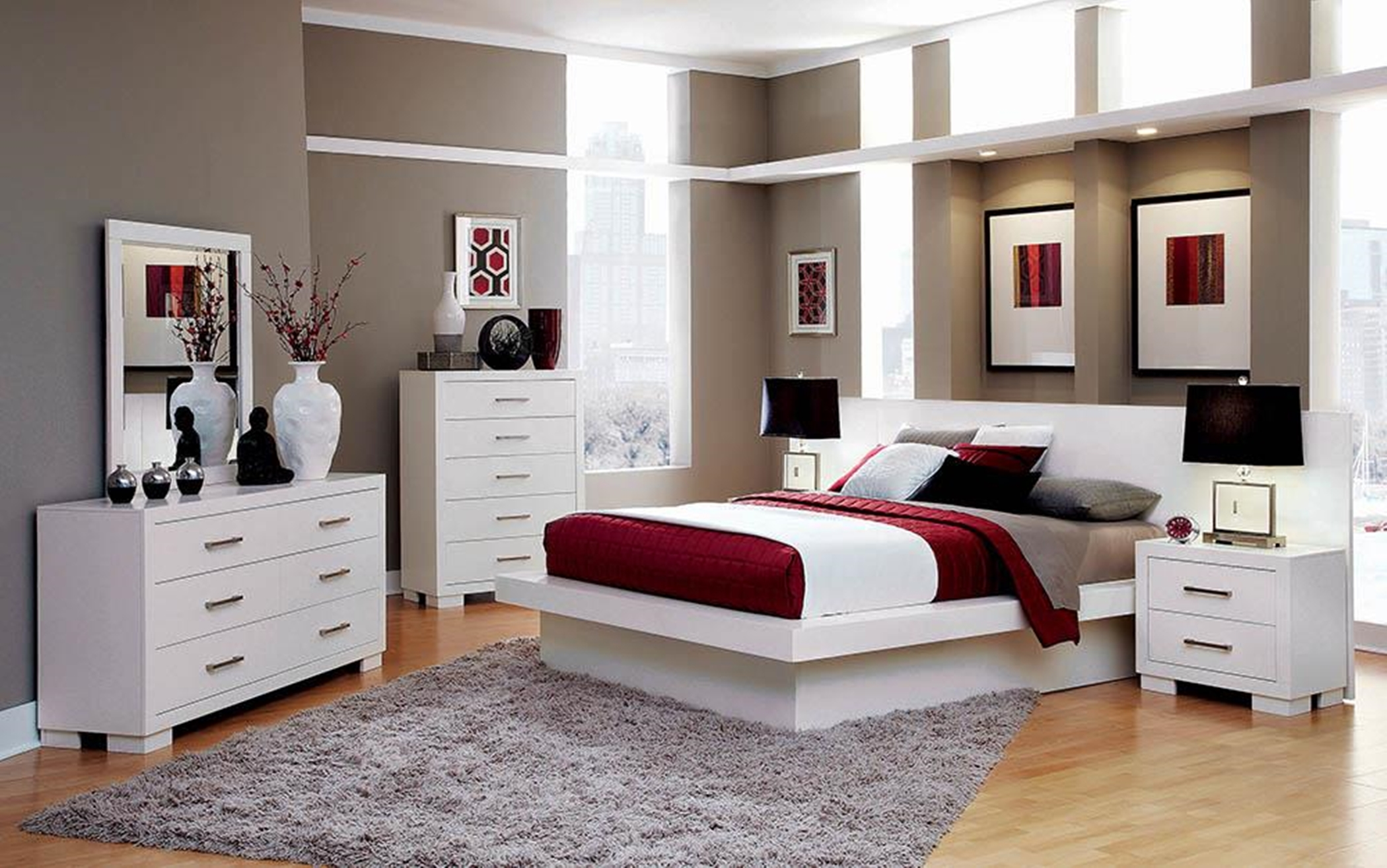 Jessica White Cal. King Bed
