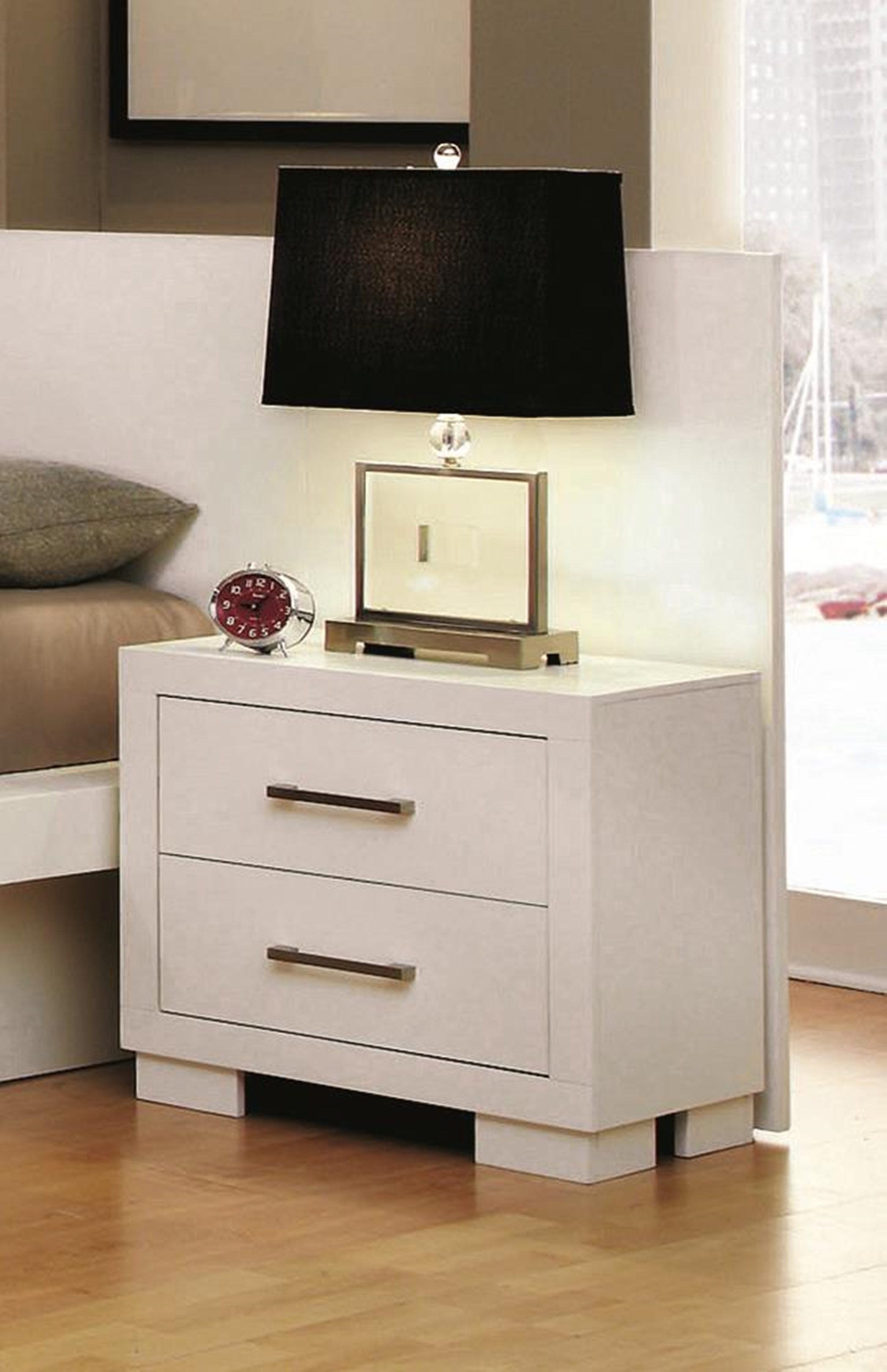 Jessica White Nightstand