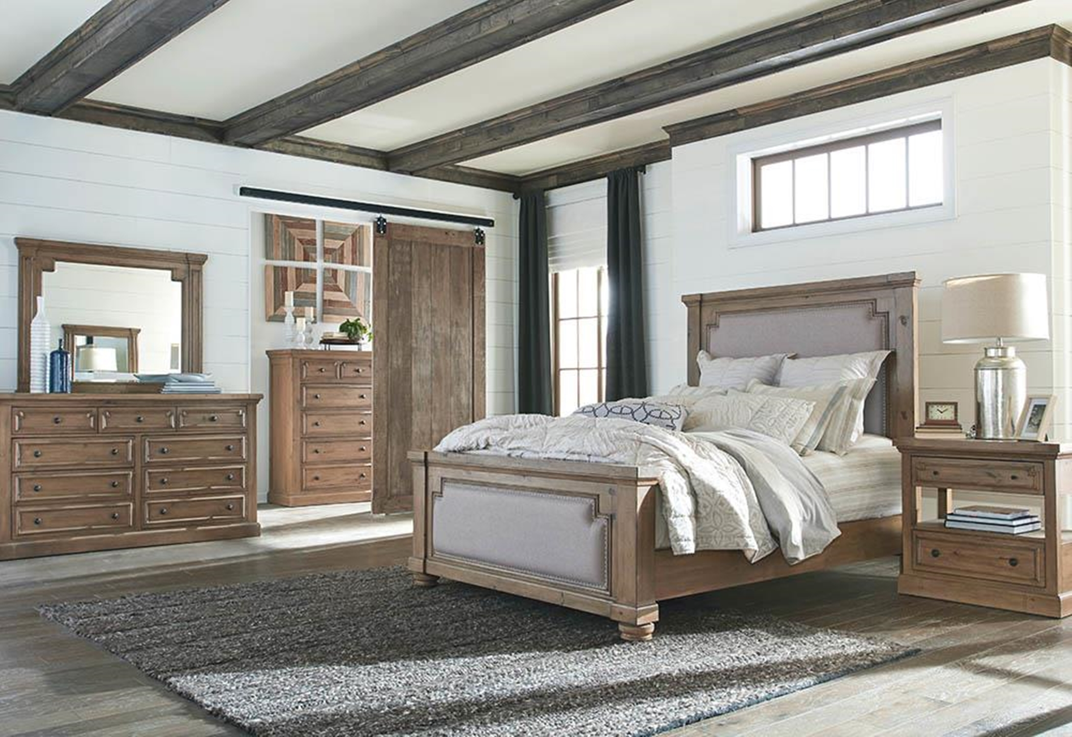 Florence Rustic 5-Pc. King
