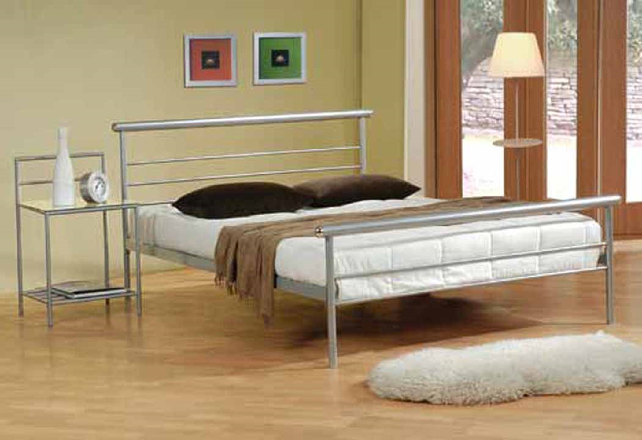 Cobalt Silver Full Bed