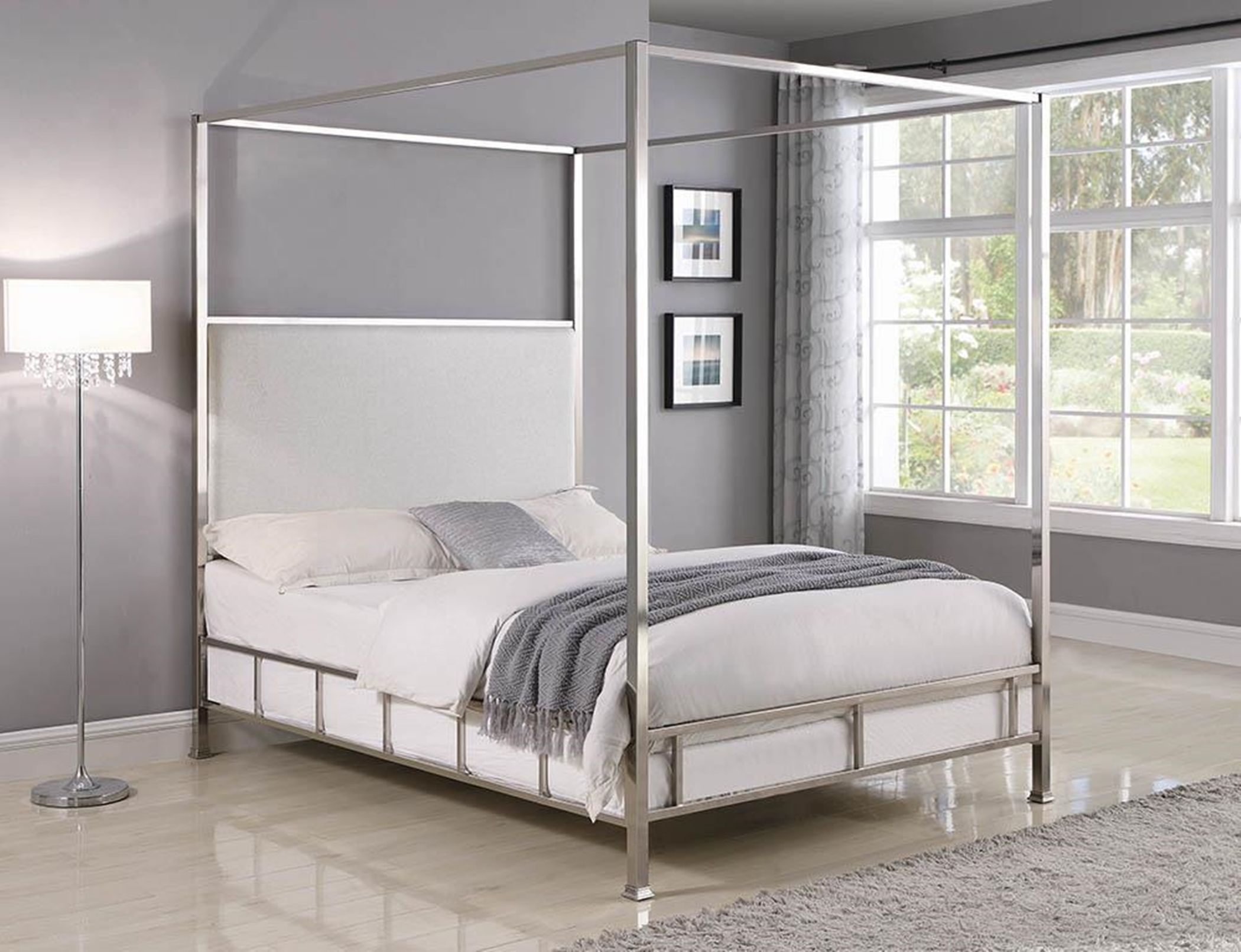 Claire C King Bed
