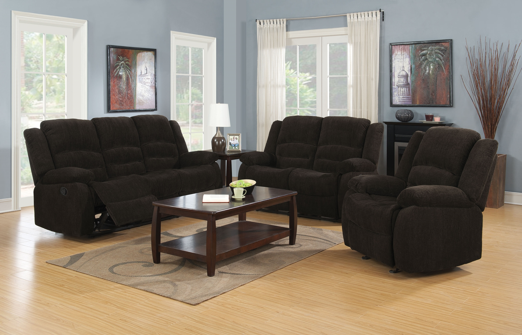 Gordon Chocolate Reclining 2 Pc.