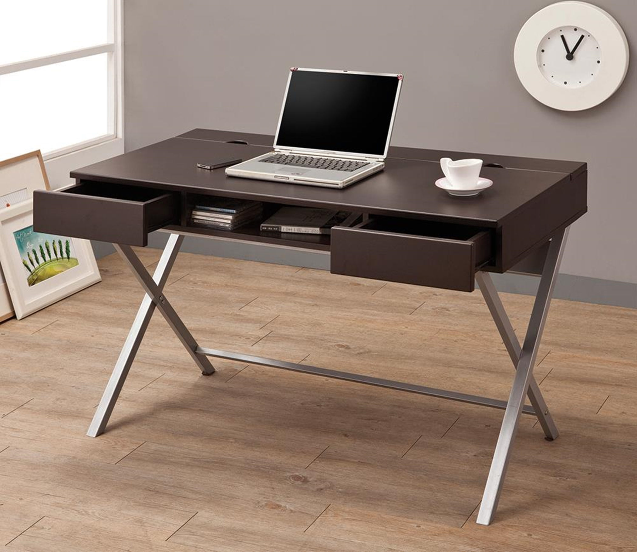 Contemporary Capp. Writing Desk