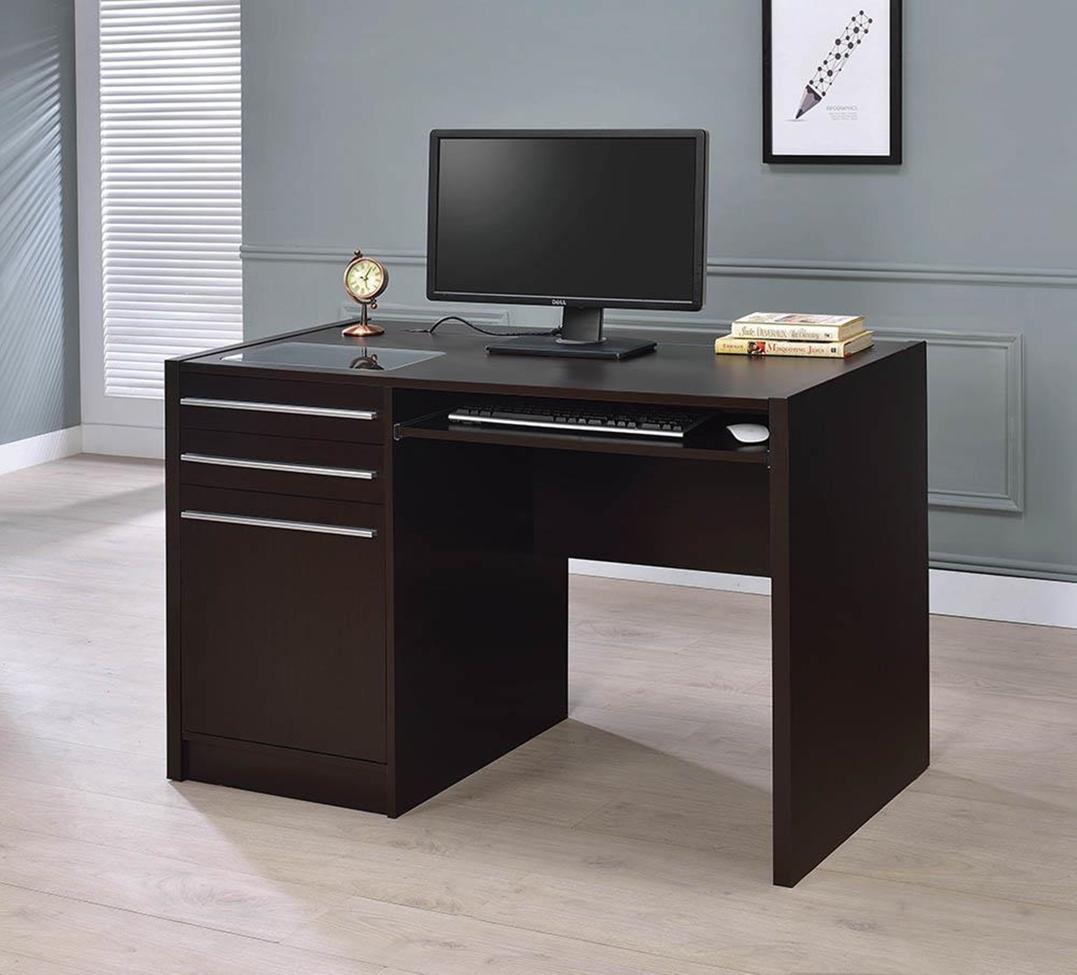 Contemporary Capp. Connect-It Computer Desk