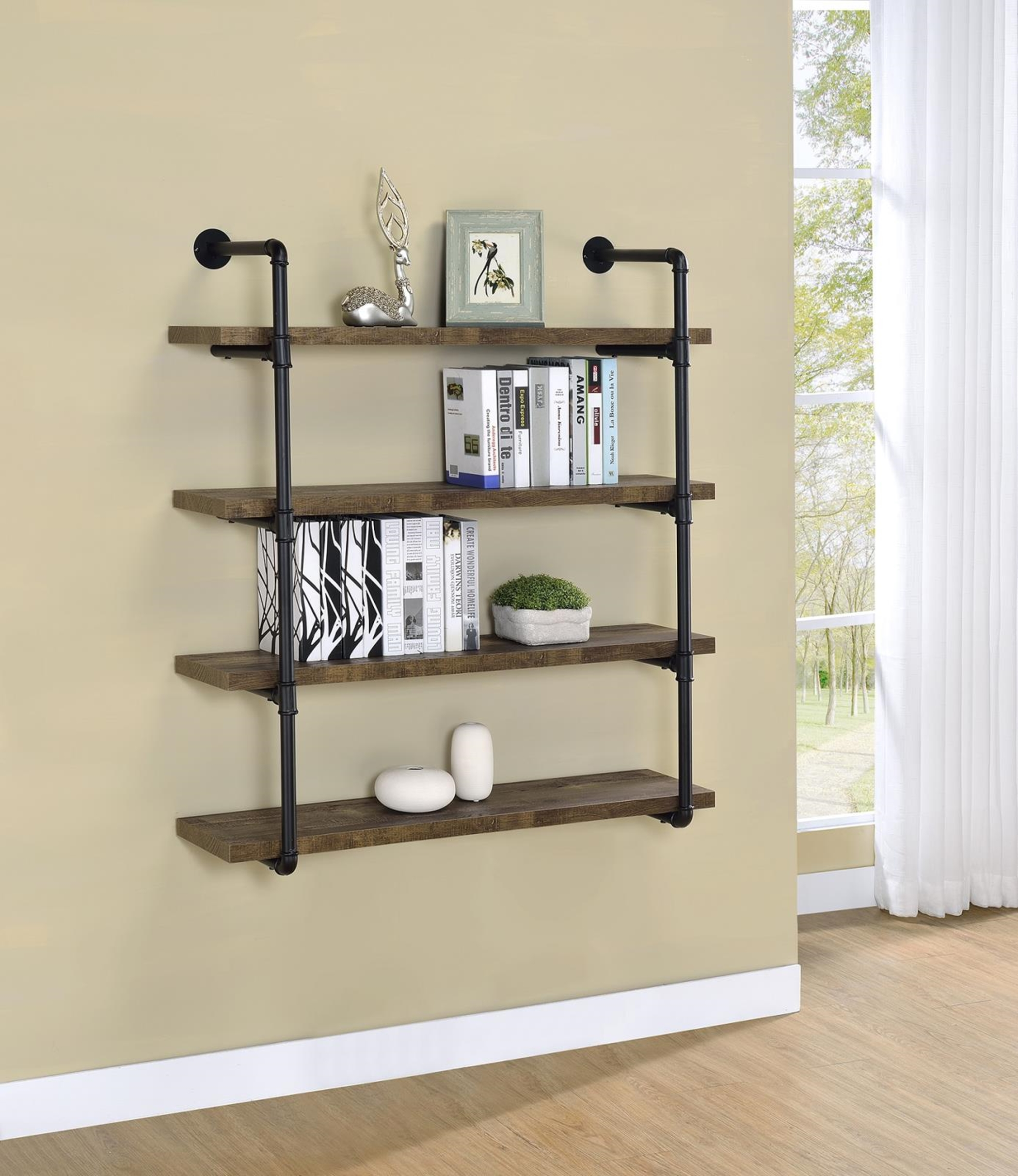 804417 - 40in.w Wall Shelf