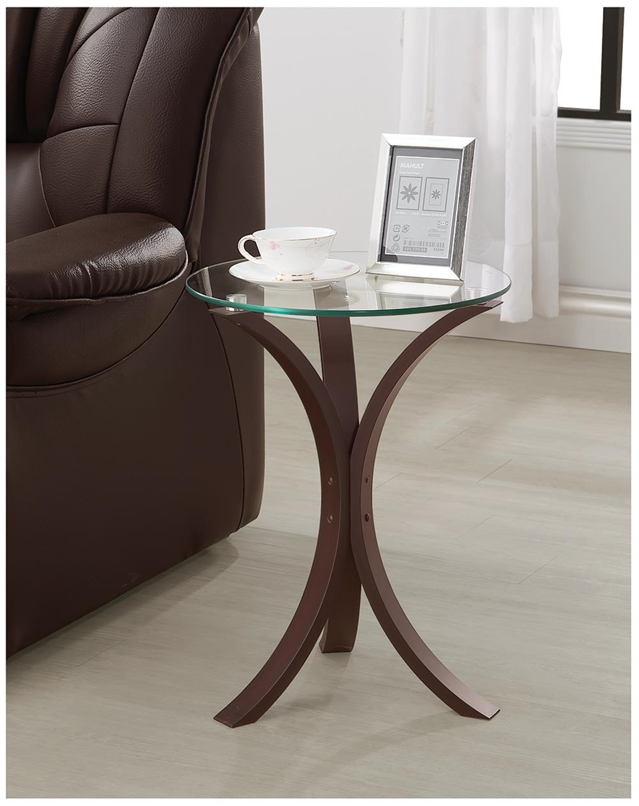 Transitional Capp. Accent Table