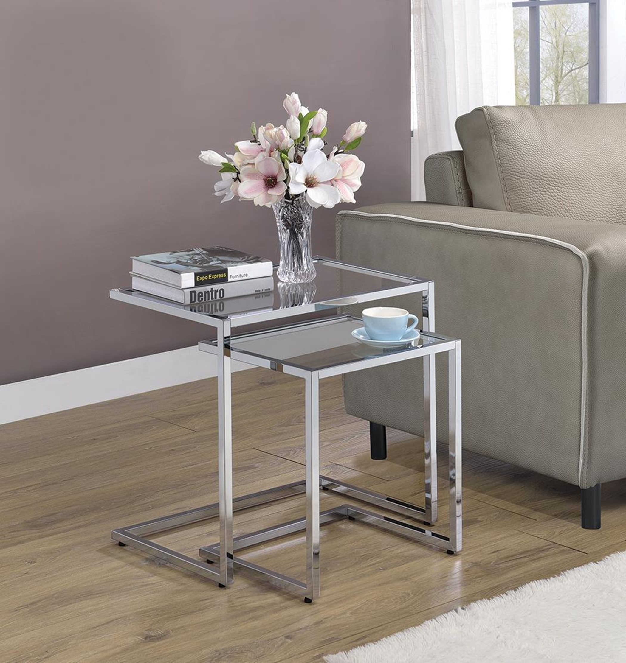 931126 - 2pcs Nesting Table