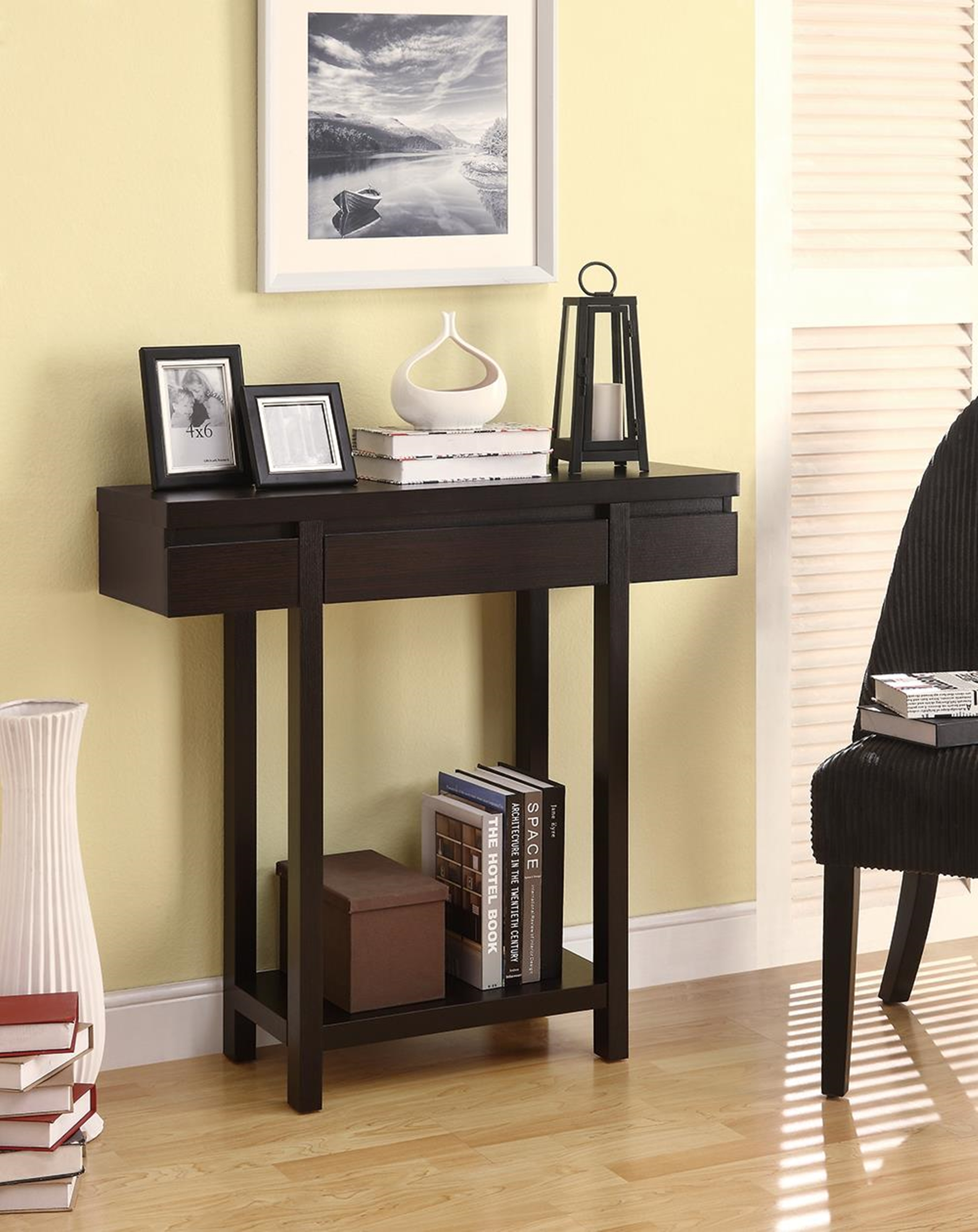 Contemporary Capp. Console Table