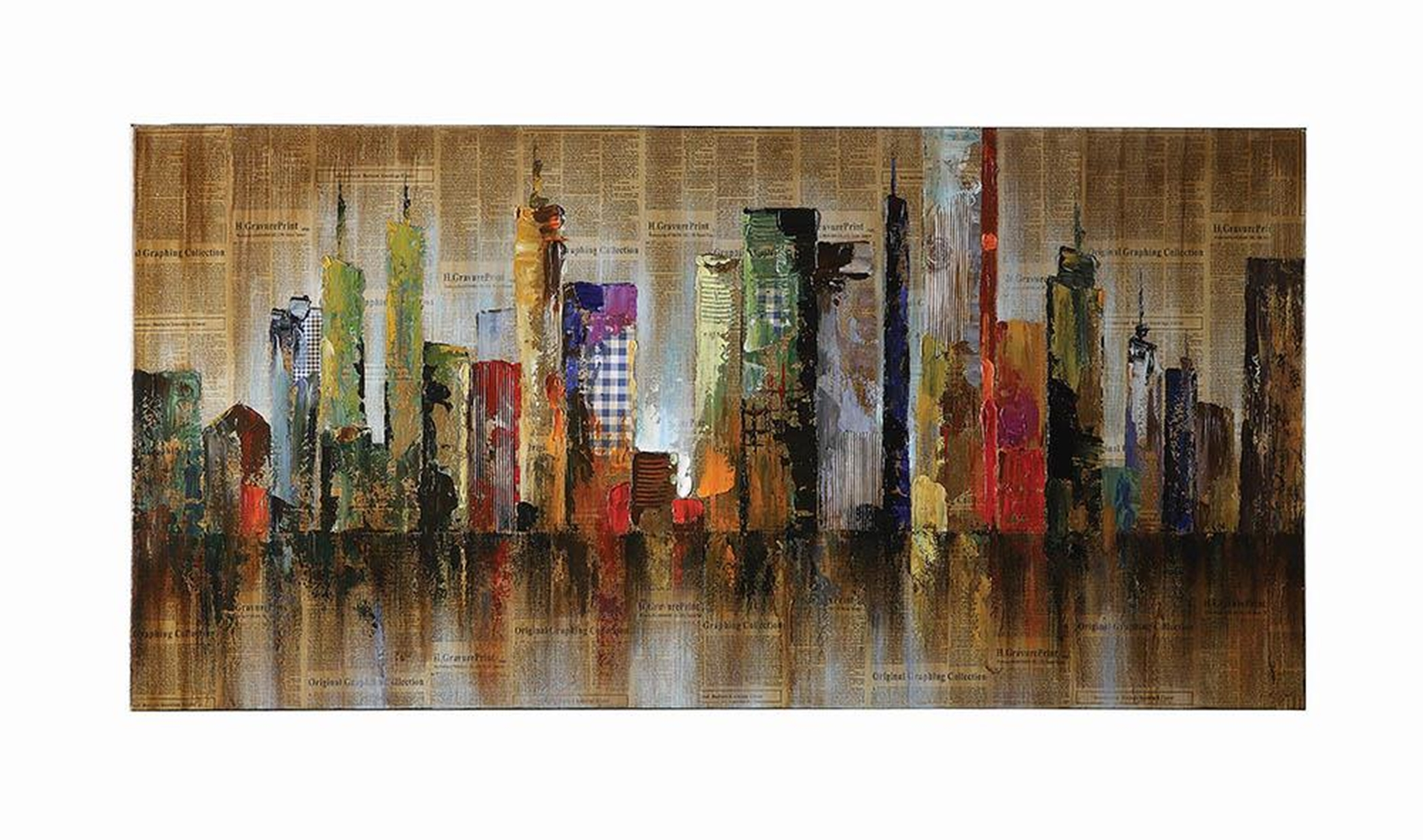 Contemporary Cityscape Wall Art