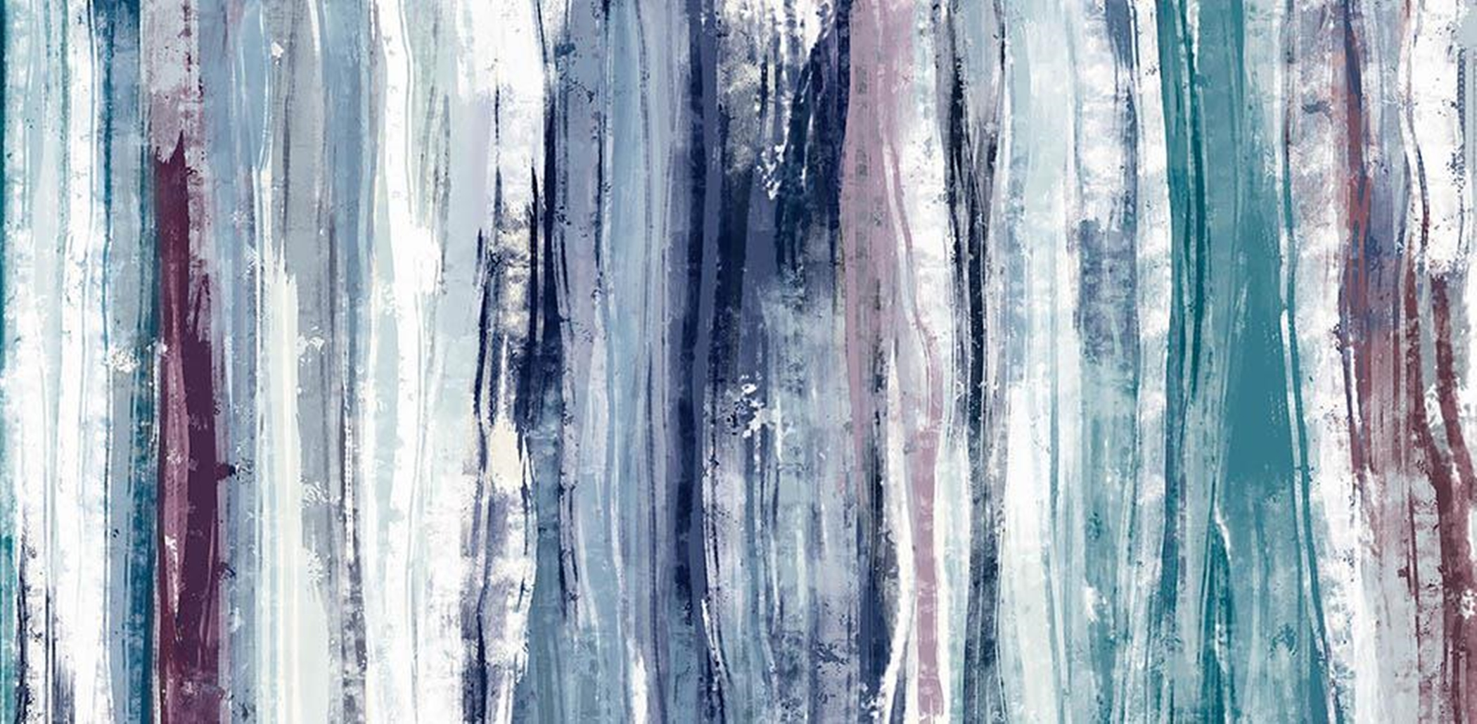 Winterland Abstract Wall Art