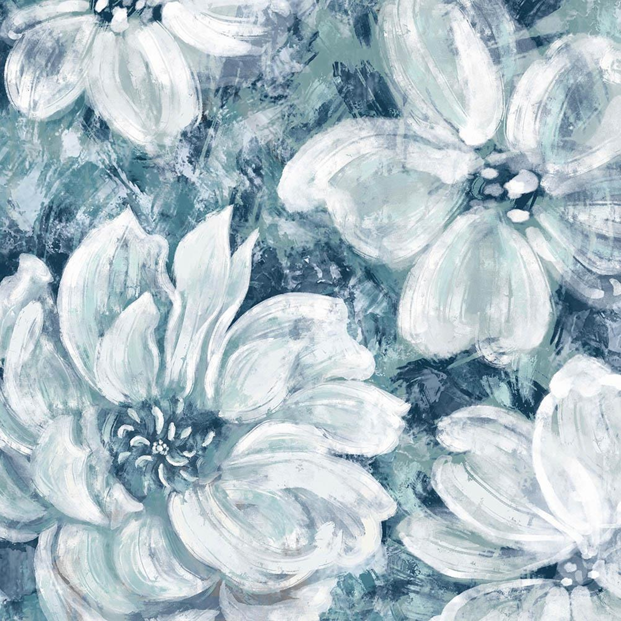 Blooming Garden Abstract Wall Art