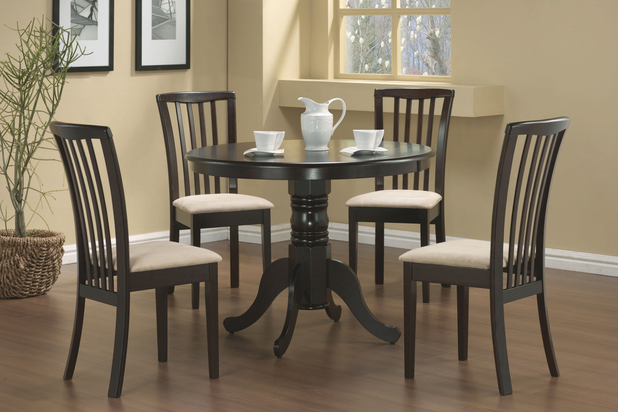 Brannan Casual Cappuccino Dining 5 Pc. Set