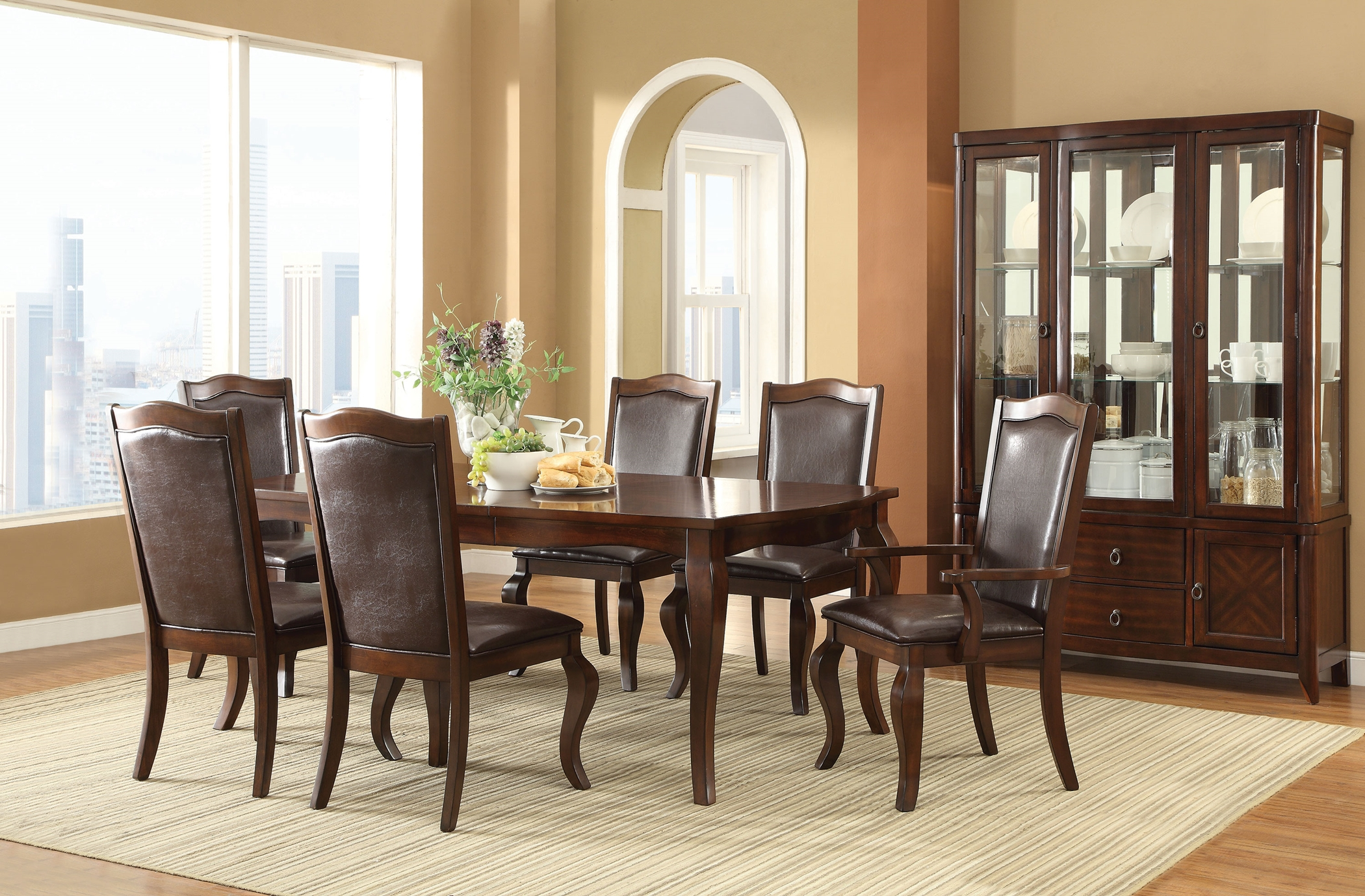 Louanna Espresso 7 Pc. Set