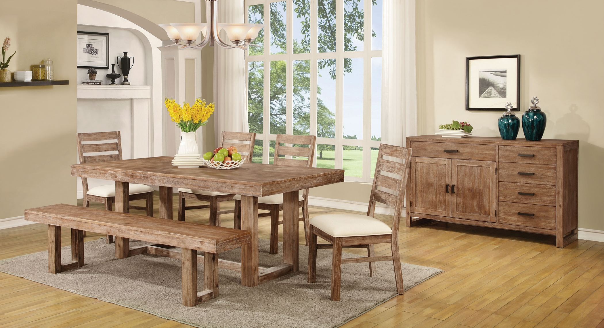 Elmwood Rustic 6 Pc.