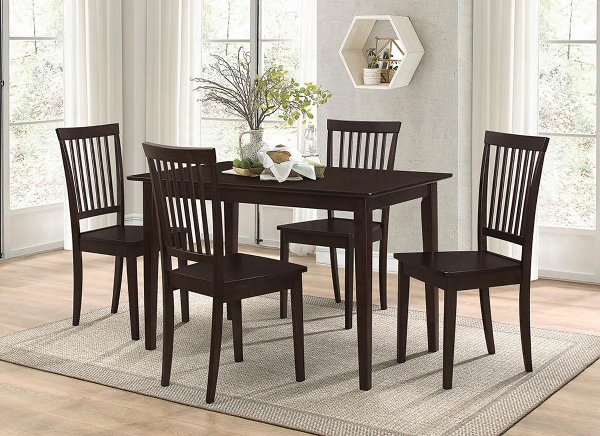 Oakdale Casual Capp. 5-Pc. Dinette Set