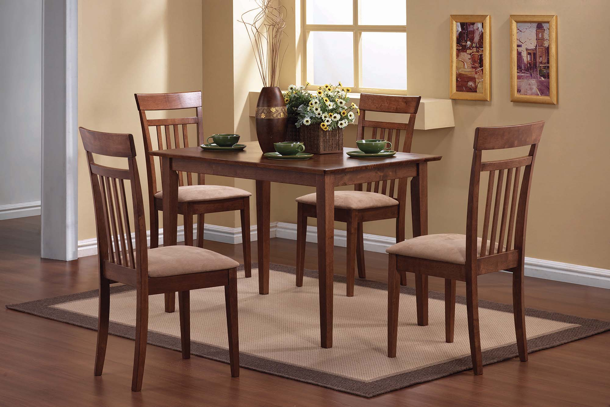 Casual Chestnut 5-Pc. Dining Set